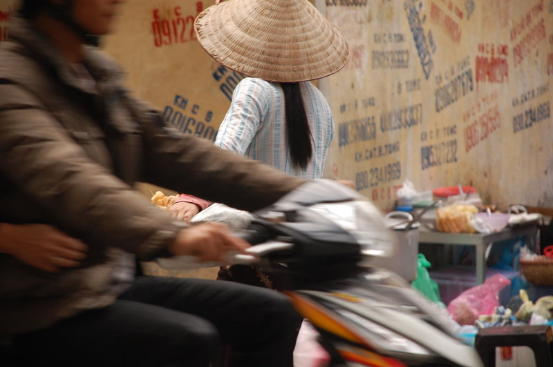 Vietnam Hanoi street view