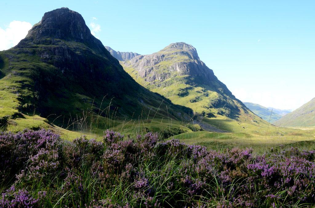 Glencoe Scotland highland trek last valley