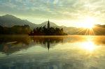 Bled lake Slovenia sunrise summer DSC_0346c_1