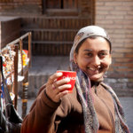 A lady in Khiva