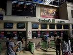 火車站內的售票處