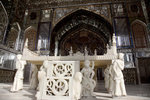 古列斯坦宮殿(Takht-e Marmar)內的大理石王座(Marble Throne)