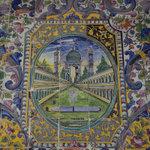印了古列斯坦皇宮的磁磚