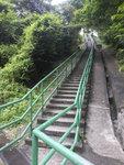通往唐代灰窰和東涌小炮台的梯級