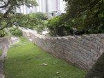東涌炮台內城牆