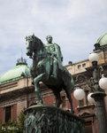 Statue of Prince Mihailo 邁克爾親王 米洛什紀念雕像 Republic Square 共和廣場