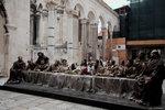Last Supper - 耶蘇和十二門徒雕像