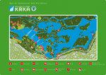 Map of Skradinski Buk