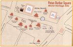 Map of Patan Durbar Square