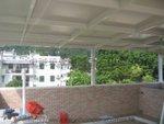 西貢北港村搭建天台玻璃屋
