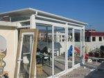 沙角尾村天台搭建玻璃屋