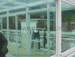 西貢禁區高塘村白色玻璃屋