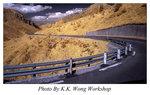 於旅遊巴行駛中拍攝的紅外線相片 Photo by Sony NEX-6 16-50mm Len