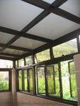 古銅色鋁框玻璃屋