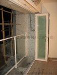露台鐵扶手玻璃圍欄