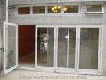 元朗加州花園水仙徑鋁窗玻璃門 (10)