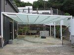 西貢菠蘿輋玻璃棚鋁窗 (2)