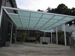 西貢菠蘿輋玻璃棚鋁窗 (3)