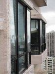 跑馬地蔚豪苑B座低層鋁窗趟門工程 (1)