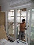 尖沙嘴港景峰雙色鋁窗工程 (5)