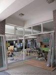 中學小學學校趟摺門玻璃門 (10)