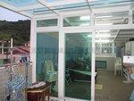 西貢西澳村天台玻璃屋戶外木 (6)