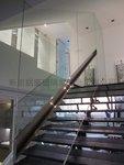 樓梯玻璃扶手 (16)