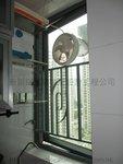 沙田皇御居綠色鋁窗 (5)