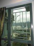 沙田皇御居綠色鋁窗 (7)
