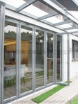元朗峰景豪園鋁窗玻璃趟摺門 (1)