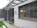 元朗峰景豪園鋁窗玻璃趟摺門 (5)