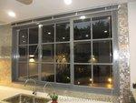 元朗峰景豪園鋁窗玻璃趟門 (2)