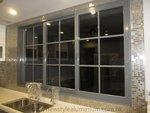 元朗峰景豪園鋁窗玻璃趟門 (4)