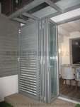 元朗峰景豪園鋁窗玻璃掩門 (2)