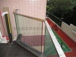 何文田金百利大廈不銹鋼玻璃欄河工程 (4)