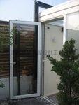 高級鋁掩門配強化玻璃