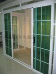 趟門可裝在門口、露台、玻璃屋或屋內