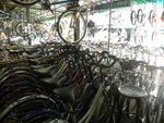 Purchasing a second hand bicycle for the trip from Phnom Penh to Siem Reap, around US$50