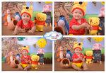 12. 小熊 Pooh  (圖中Pooh是客人自備)