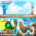 Expectation vs Reality - Programming Joke