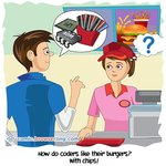 Burgers - Web Joke