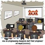 International Olympiad in Informatics - Web Joke