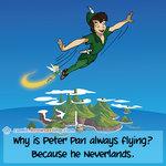 Peter Pan - Programming Joke
