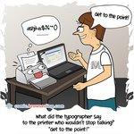 Printer - Web Joke
