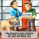 The Times Newspaper - Programming Joke
