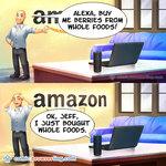 Jeff Bezos Buys Berries at Whole Foods - Programming Joke