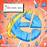 Internet Explorer CSS Joke - Programming Joke