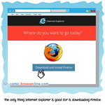 Internet Explorer - Internet Joke