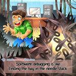 Needle Stack - Programming Joke