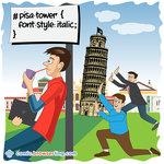 Pisa Tower - Programming Joke